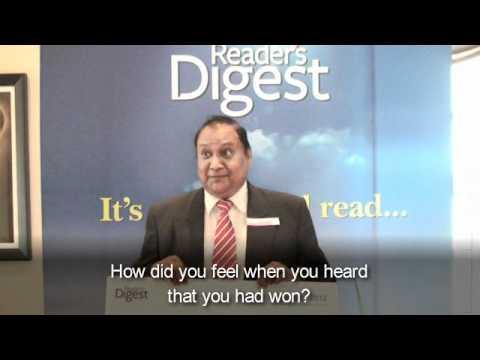 Readers Digest Sweepstakes Winners 2012