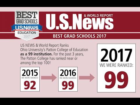 us education ranking list