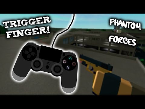 Roblox Phantom Forces - Trigger Finger! - #26 - Live Commentary