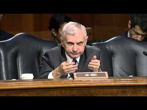 Reed Questions Administration Officials at Border Crisis Hearing