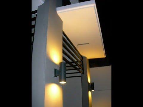 Desain Lampu Hias Dinding Teras Rumah Minimalis Youtube