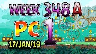 Angry Birds Friends Tournament Level 1 Week 348-A PC Highscore POWER-UP walkthrough