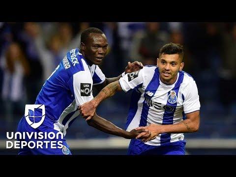 Con gol del 'Tecatito' Corona; Porto aplastó al Pacos de Ferreira