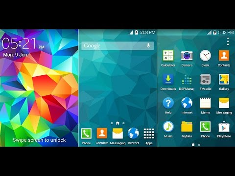 Galaxy Ace Gt S5830 S5 Rom Android 4 4 Kitkat Youtube
