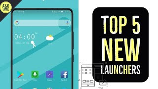 TOP 5 NEW LAUNCHER FOR ANDROID👩‍💻.[CUSTOMISE YOUR MOBILE]