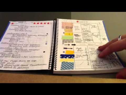 Project Life Planning Notebook Youtube