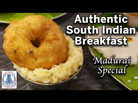 Best Vegetarian Breakfast at Madurai | Sri Meenakshi Bhavan