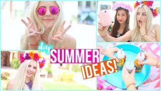 10 Summer Inspired Diy Ideas! Ft. Maybaby | Aspyn Ovard