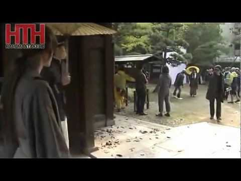 Rurouni kenshin live action behind the scenes footage avi youtube