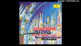Igor Stravinsky : Symphony in E-flat major Op. 1 (1905-07)