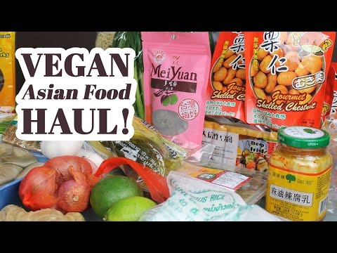 Vegan Asian Grocery Haul! T&T Supermarket [vegan grocery haul #1]