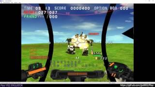 Play! PS2 Emulator - Gungriffon Blaze Ingame (20160911)