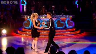 Abbey Clancy & Aljaz dance the Jive to 'Can't Buy Me Love' - Strictly Come Dancing - BBC