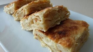 Borek With Potatoes | Potato Pastry | Borek Recipe