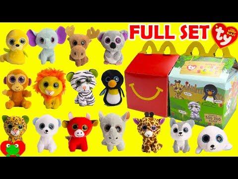 9079f77a455 2017 Teenie Beanie Boo s McDonald s Happy Meal Toys ...