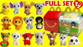 2017 Teenie Beanie Boo's McDonald's Happy Meal Toys Full Set