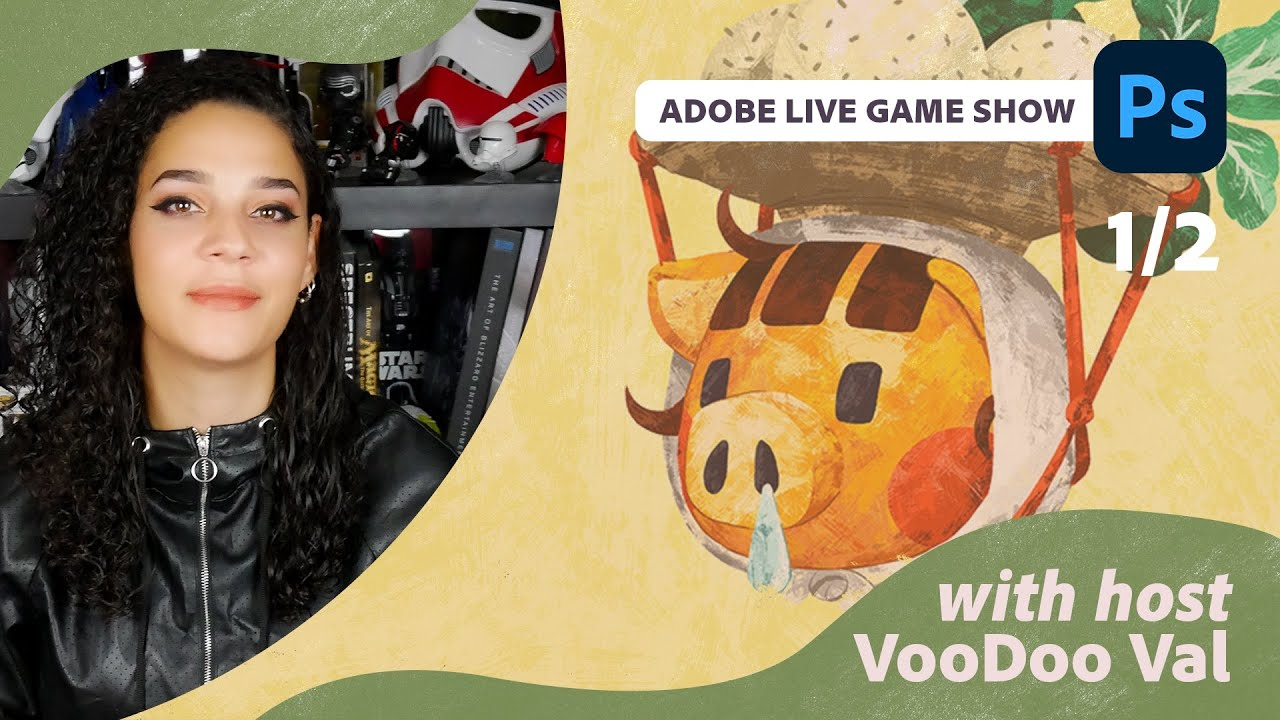 The Adobe Live Game Show with VooDoo Val - 1 of 2