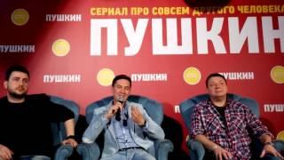 Сериал СТС «Пушкин» представили в Петербурге (13)