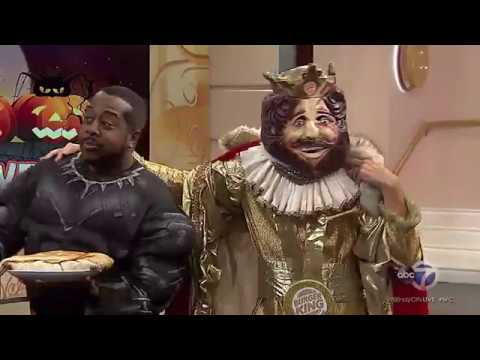 Leon Rogers' fear of the Burger King is REAL!