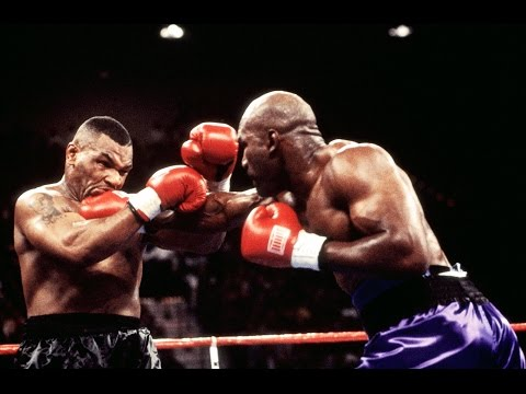 Mike Tyson vs Evander Holyfield #Legendary Night# HD from YouTube · Duration:  5 minutes 55 seconds