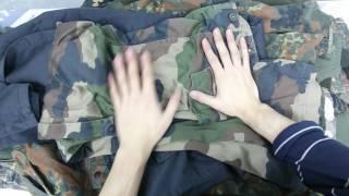 Военная одежда германия 20кг 23ед 8,5евро/кг