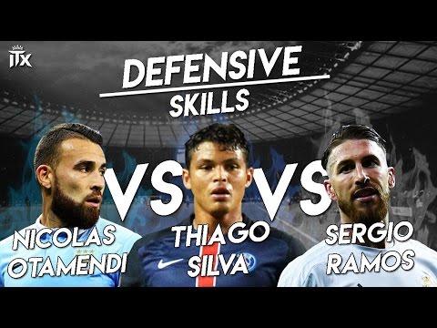 Defensive Skills | Nicolas Otamendi ● Thiago Silva ● Sergio Ramos| Special 1K | HD | iTXenon™