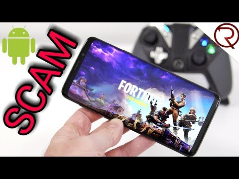 The SCAM behind Installing a FAKE copy of Fortnite for Android
