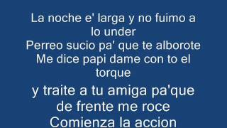 falsetto y sammy ft ñengo flow - yo se que tu quieres (letra)