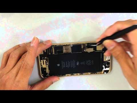 i6 plus iphone6 plus repair fix 維機魔法手機教學 液晶破裂更換主機板拆解