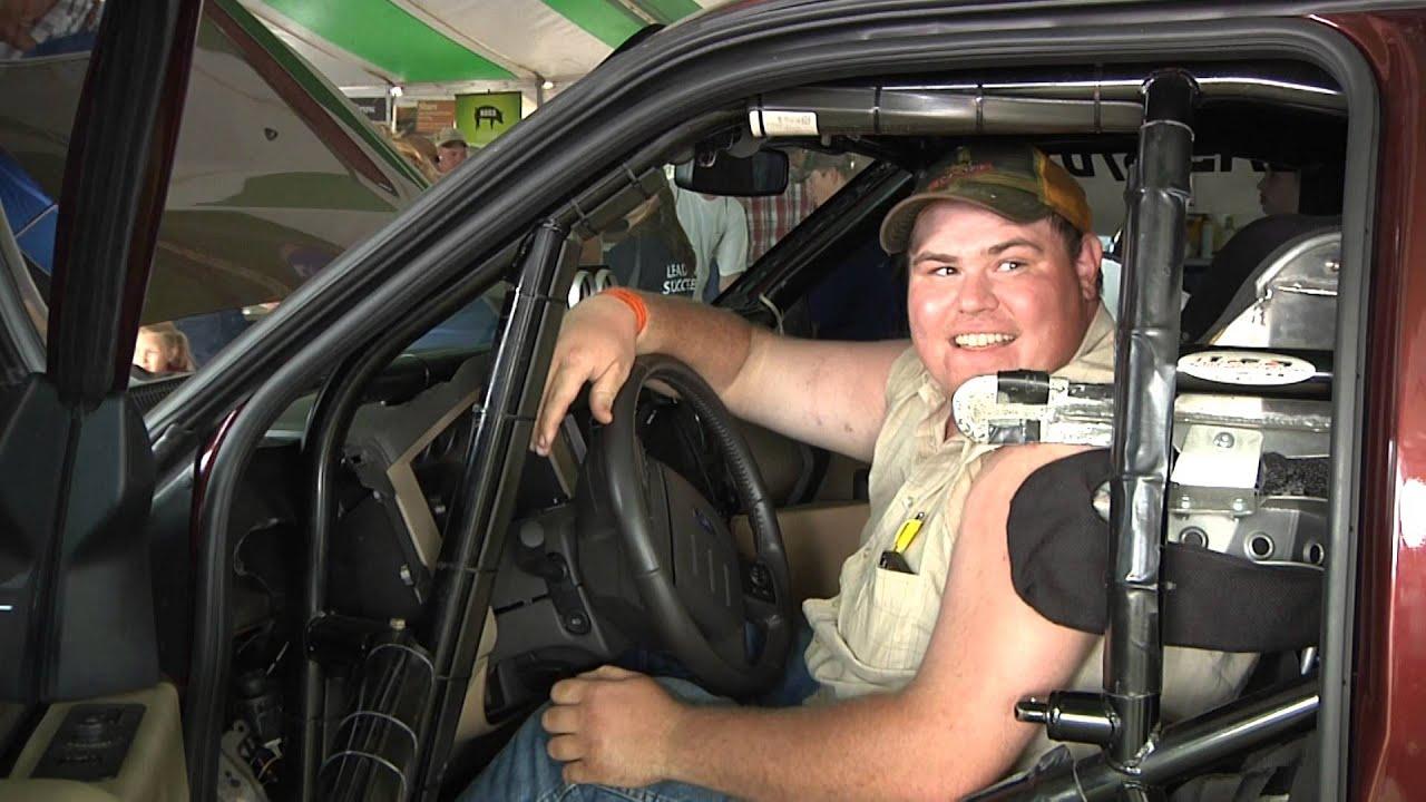 world u0027s fastest biodiesel truck at farmfest youtube