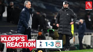 Klopp's Reaction: Matip & Fabinho update, Thiago & team performance | Spurs vs Liverpool