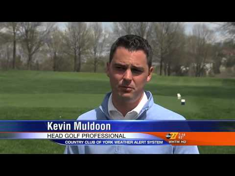 Lightning Detection Comes to Pennsylvania Country Club: WHTM-TV Reports