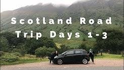 Scotland Road Trip Day 1 to 3 *EURO HOSTEL GLASGOW* *PURRPLE CAT CAFE*