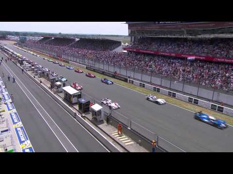 24 Hours of Le Mans 2015 - Race highlights from 1pm to 3pm