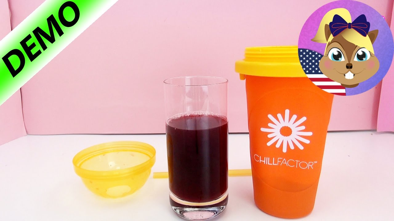 Chill Factor Slushy Maker Demo How To Use The Magic Freez Review