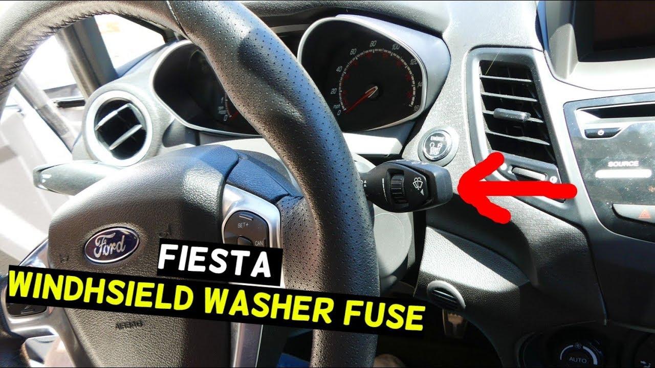 ford fiesta windhsield washer pump fuse location mk7 st [ 1280 x 720 Pixel ]