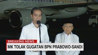 Jokowi : Syukur Alhamdulillah; Tidak Ada Lagi 01 & 02 - Tanggapi Sidang MK