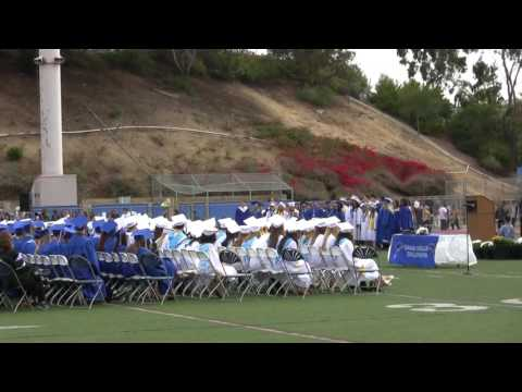 Dana Hills High School Graduation 2016 Students Singing