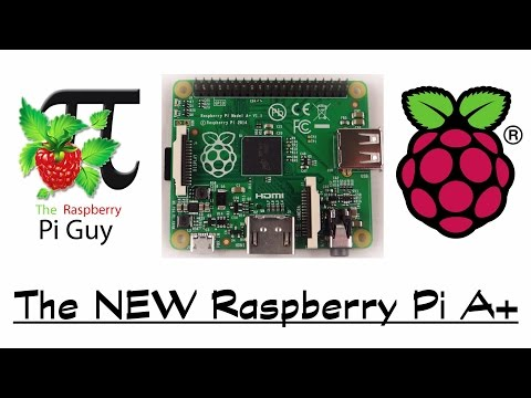 The NEW Raspberry Pi A+