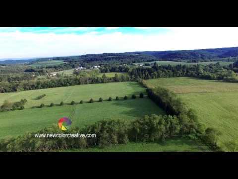Saltsburg and Avonmore Pennsylvania Ultra HD Aerial Video