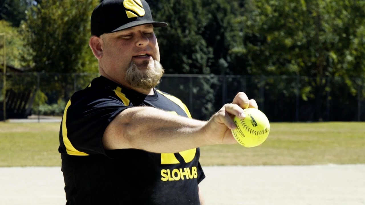 How to throw different pitches in slow pitch softball