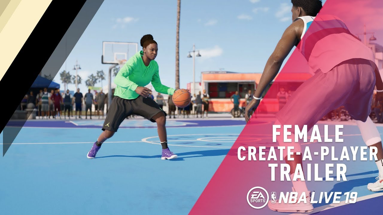 NBA Live 19 brings women to its career mode - Polygon