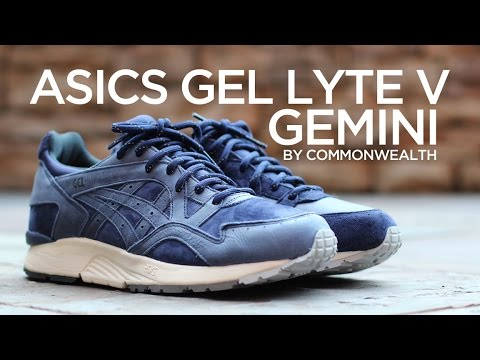 commonwealth x asics gel lyte v the gemini