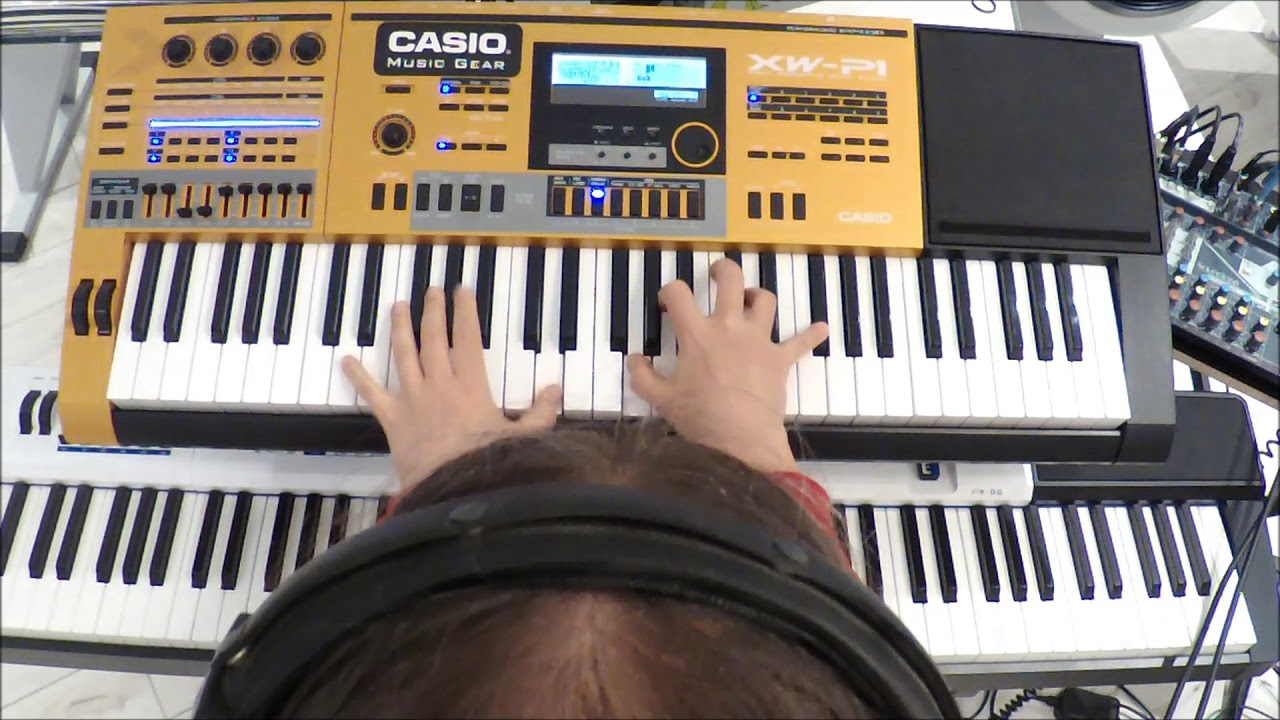 Download CASIO XW-P1 Performance Mode / Step Sequencer