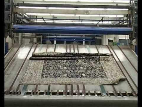 Teppichwäsche im Teppich Wasch Center Bayern