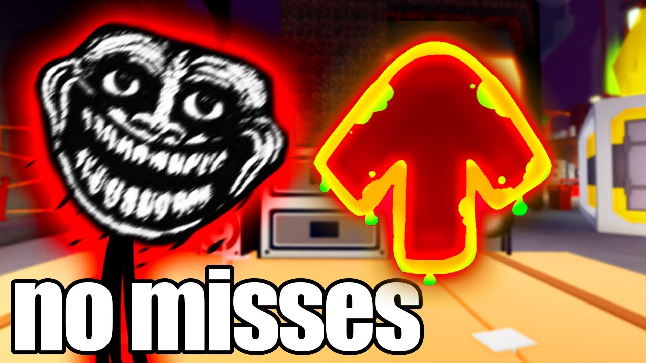 FNF Trollface but if I miss a note, the video ends.. (Friday Night Funkin')
