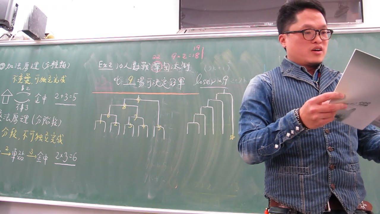 高一下第26堂96學測王建民+賽程問題+上下山問題(下) - YouTube