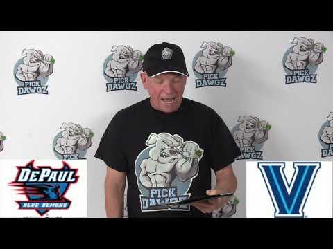 Villanova vs DePaul 1/14/20 Free College Basketball Pick and Prediction CBB Betting Tips