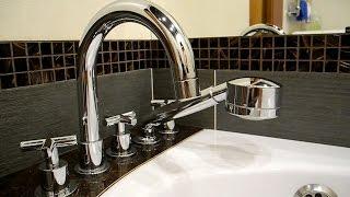 Установка горизонтального смесителя для ванной SYMETRIC 345 510 00 ч 3