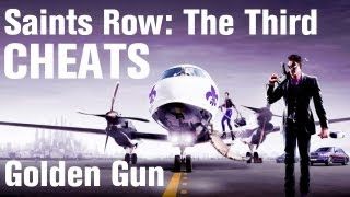 Saints Row 3 Cheats: Golden Gun